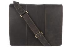 Кожаная сумка Visconti Mucho 16019XL Brown