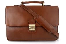 Портфель кожаный мужской Visconti Russel 18074 Brown
