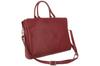Кожаная сумка для ноутбука Visconti Ollie 18427 Red