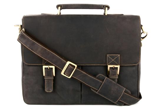 Кожаный портфель Visconti 18716 Berlin Oil Brown