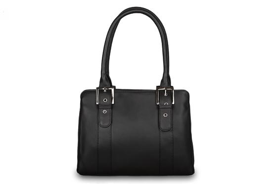 Кожаная сумка Visconti Hannah 18746 Black. Фирменный магазин Visconti.