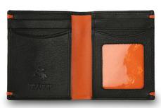 Бумажник Visconti AP60 Black/Orange.