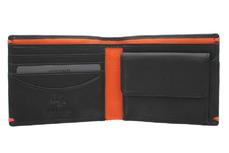 Бумажник Visconti AP62 Black/Orange.