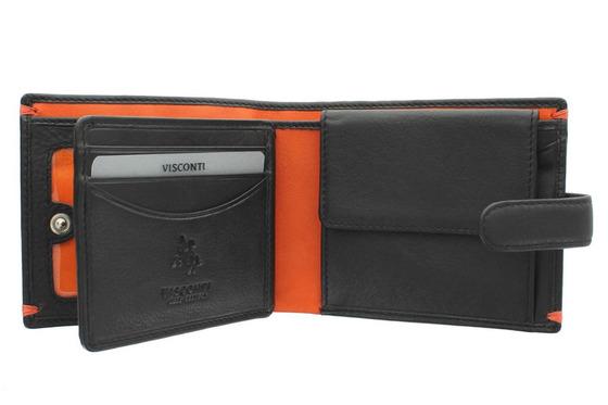 Бумажник Visconti AP63 Black/Orange.