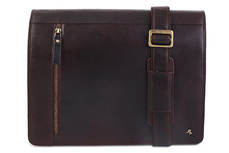 Сумка мужская кожаная Visconti Carter ML23 Brown. www.ViscontiBags.ru