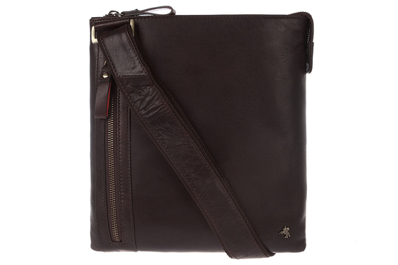 Сумка-мессенджер Visconti Taylor ML25 Brown. www.ViscontiBags.ru
