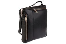 Мужская кожаная сумка Visconti Roy ML20 (M) Black
