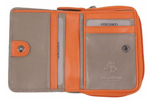 Кошелек Visconti RD90 Orange Taupe.