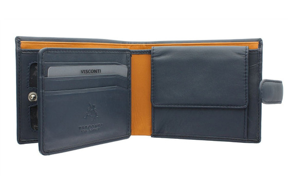 Бумажник Visconti PM102 Blue/Must.