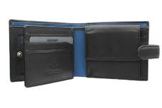 Бумажник Visconti PM102 Black/Cobalt.