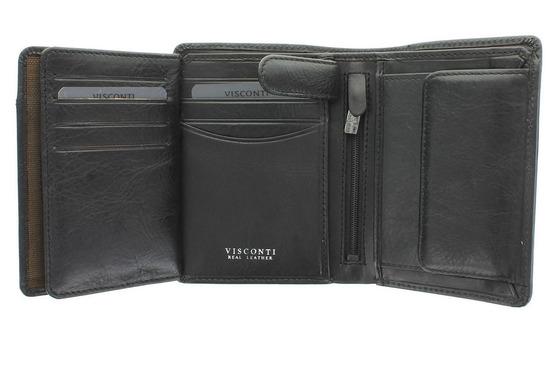 Бумажник Visconti TSC44 Black.