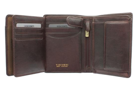 Бумажник Visconti TSC44 Brown.