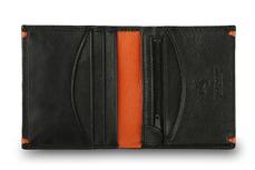 Бумажник Visconti AP61 Black/Orange.
