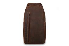 Кожаный рюкзак с одной лямкой Visconti Shark 16132 Oil Tan.
