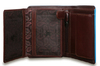 Бумажник Visconti ALP87 Brown. Отделения для карт