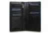 Бумажник Visconti ALP88 Black. Отделения для карт