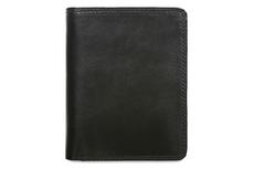 Кожаный бумажник Visconti HT11 Brixton Black (чёрный)