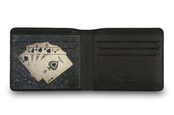 Бумажник Visconti PKR43 Black.