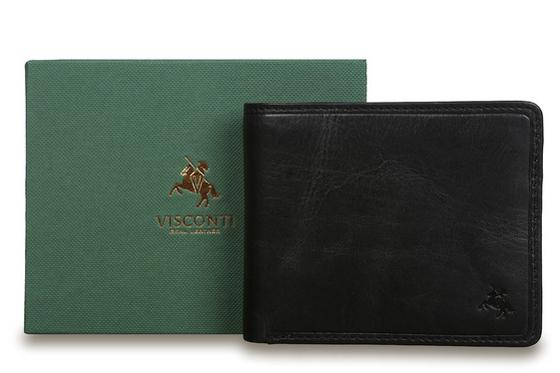 Бумажник Visconti TSC46 Black. Упаковка.