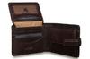 Бумажник Visconti TSC48 Brown из натуральной кожи.