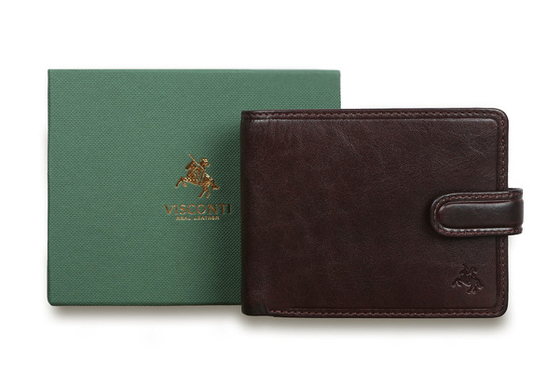 Бумажник Visconti TSC48 Brown. Упаковка