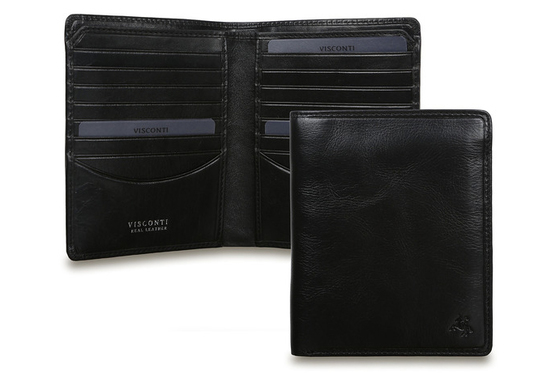 Бумажник Visconti TSC49 Black.