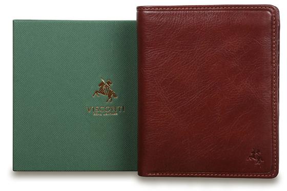 Бумажник Visconti TSC49 Tan. Упаковка.