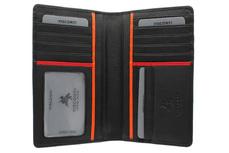 Бумажник Visconti BD12 Jaws Black/Red/Orange. Официальный сайт Visconti в России.